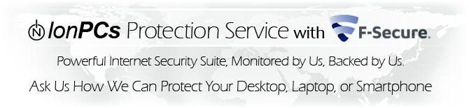 IonPCs Protection Service with F-Secure