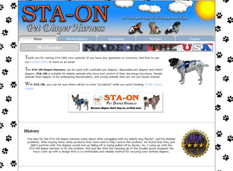 Sta-On Pet Harness